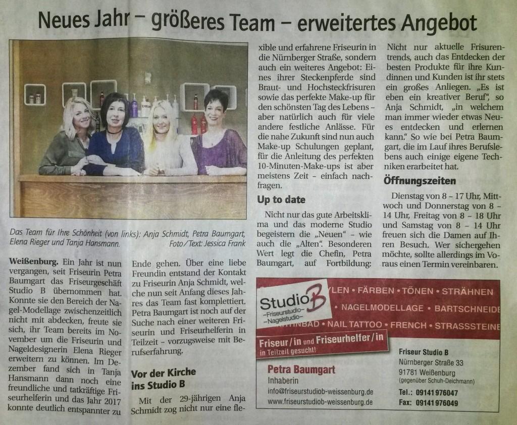 studiob-Artikel_stadt-zeitung-weissenburg_2018